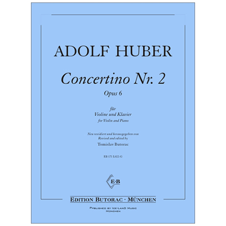 Huber, A.: Concertino Nr. 2 Op. 6