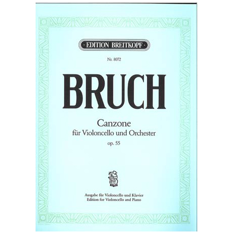 Bruch, M.: Canzone Op. 55