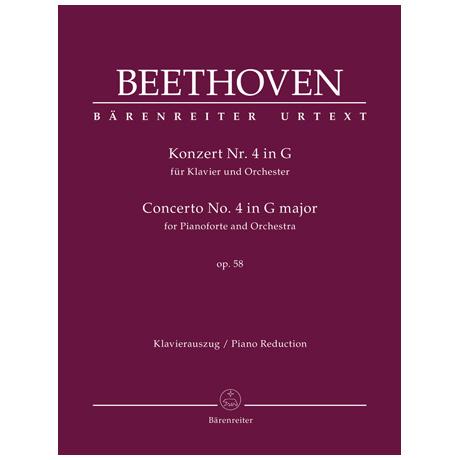 Beethoven, L. v.: Konzert Nr. 4 Op. 58 G-Dur