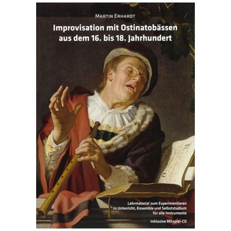 Erhardt, M.: Improvisation mit Ostinatobässen (+CD)