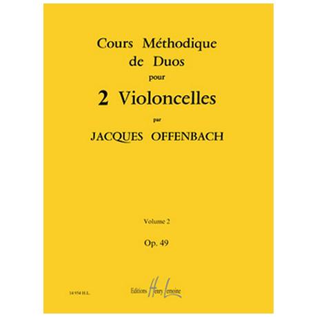 Offenbach, J.: Cours Méthodiques Op. 49 Bd. 2