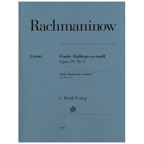 Rachmaninoff, S.: Étude-Tableau Op. 39/5 e flat minor