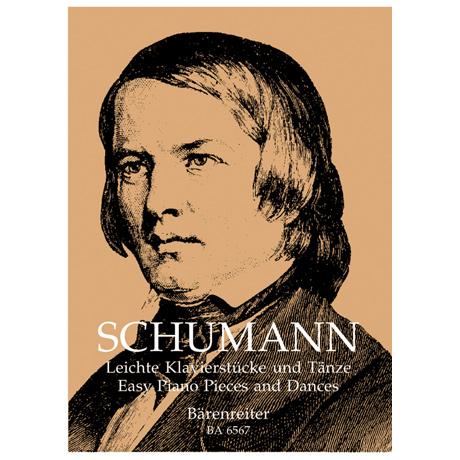 Schumann, R.: Leichte Klavierstücke und Tänze