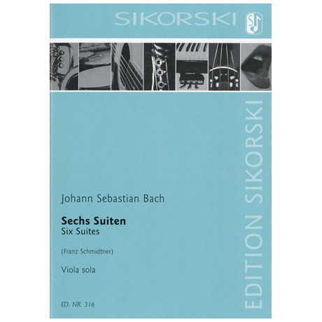 Bach, J. S.: 6 Suiten BWV 1007-1012