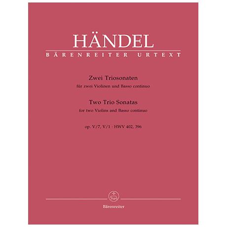 Händel, G.F.: 2 Triosonaten aus Op. 5