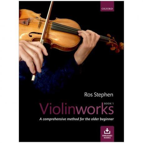 Stephen, R.: Violinworks 1 (+Online Audio)
