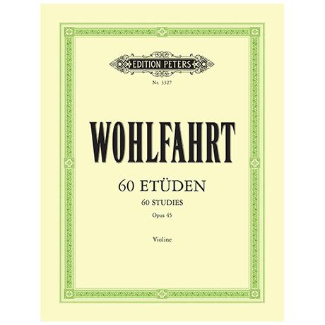 Wohlfahrt, F.: 60 Etüden Op. 45 (Sitt)