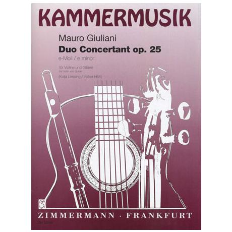 Giuliani, M.: Duo concertante e-Moll Op. 25