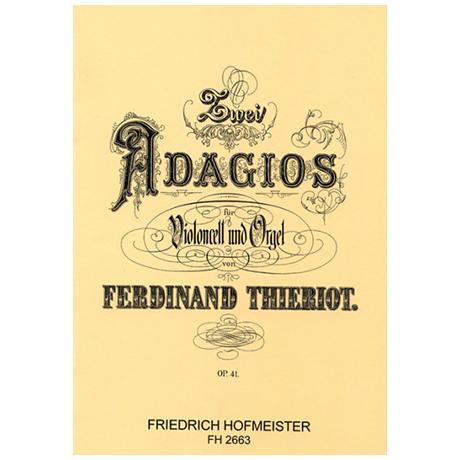 Thieriot, F.: 2 Adagios Op. 41