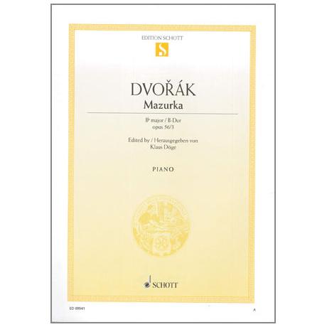 Dvořák, A.: Mazurka Op.56 Nr.3 B-Dur