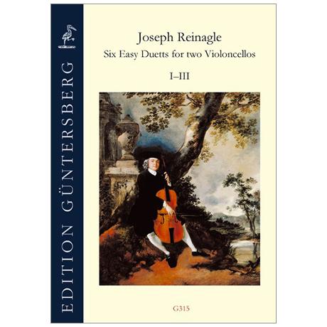 Reinagle, J.: 6 Leichte Duette I-III