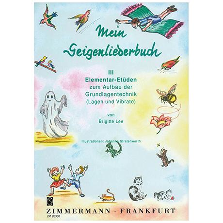 Lee, B.: Mein Geigenliederbuch Band 3