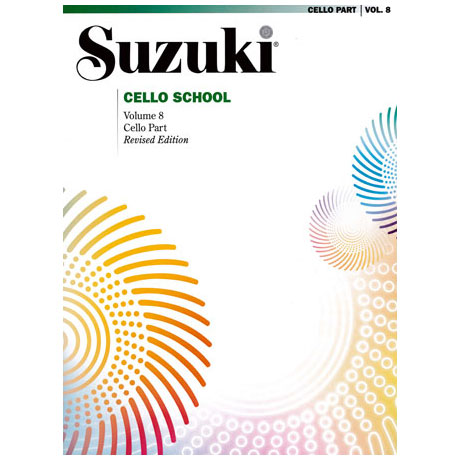 Suzuki Cello School Vol. 8