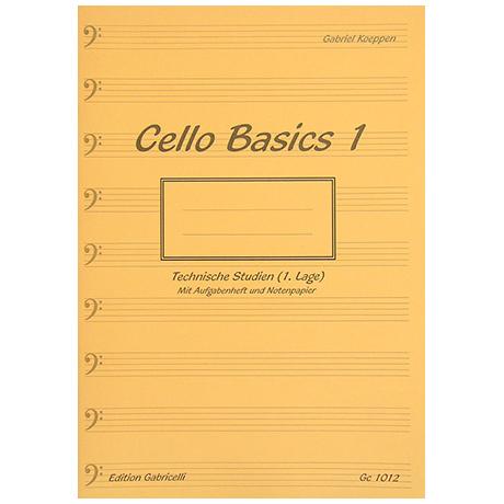 Koeppen, G.: Cello Basics Band 1