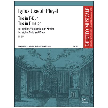 Pleyel, I. J.: Trio B. 444 F-Dur