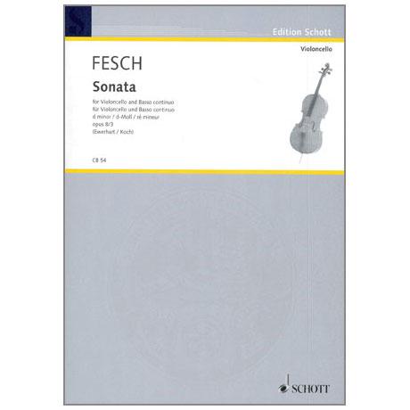 Fesch, W. d.: Sonata Op. 8/3 d-Moll