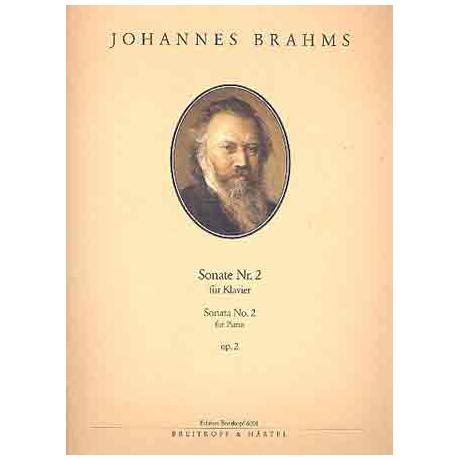 Brahms, J.: Sonate Nr. 2 fis-Moll Op. 2