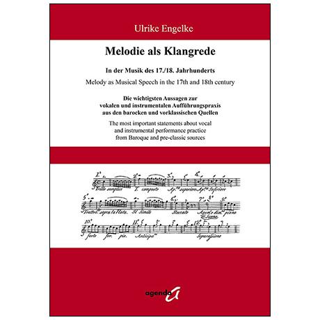 Engelke, U: Melodie als Klangrede in der Musik des 17./18. Jahrhunderts