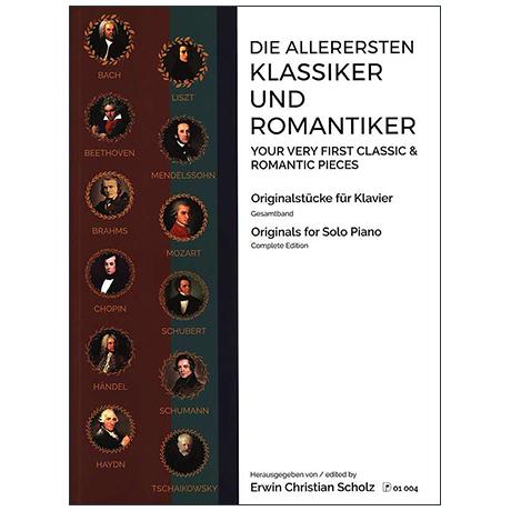 Scholz, E. C.: Die allerersten Klassiker und Romantiker Band 1-3