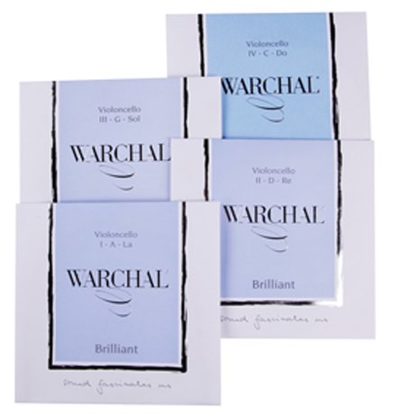 WARCHAL Brilliant cello strings SET