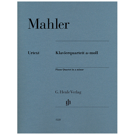 Mahler, G.: Piano Quartet a minor