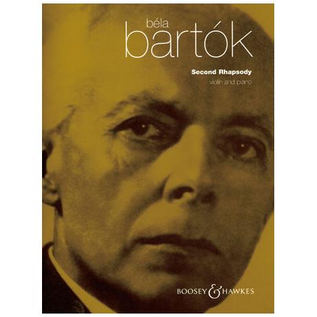 Bartók, B.: Rhapsody Nr. 2