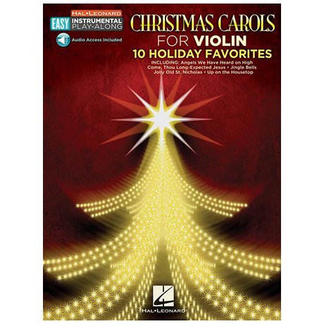 Christmas Carols for Violin — 10 Holiday Favorites (+OnlineAudio)