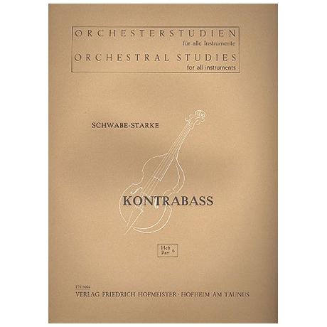 Schwabe / Starke, A.: Orchesterstudien Band 6 - Wagner (Lohengrin, Holländer, Rheingold)