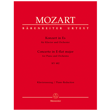 Mozart, W. A.: Klavierkonzert Nr. 22 KV 482 Es-Dur