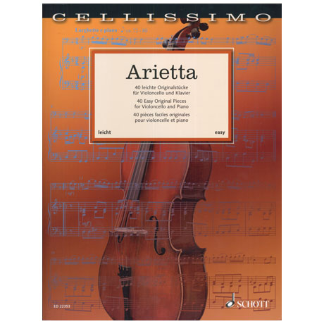 Arietta – 40 Easy Original Pieces