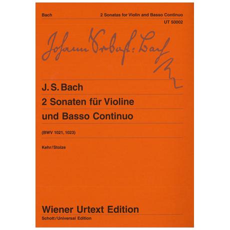 Bach, J. S.: Violinsonaten BWV 1021 & 1023