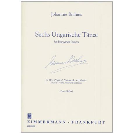 Brahms, J.: 6 Ungarische Tänze
