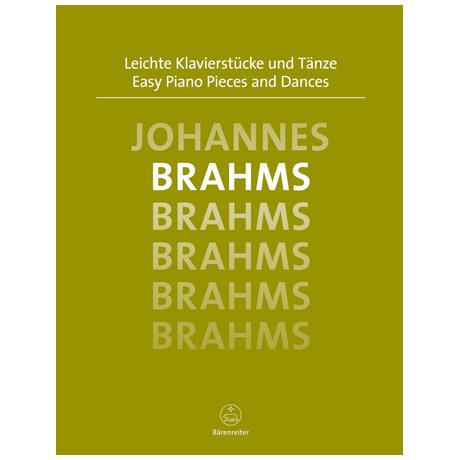 Brahms, J.: Leichte Klavierstücke und Tänze