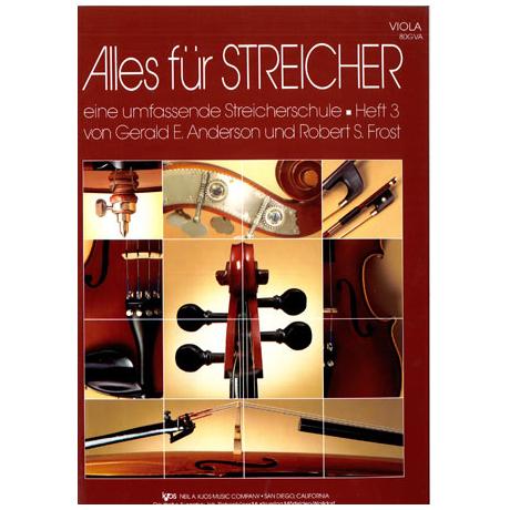 Alles für Streicher - Schule Heft 3