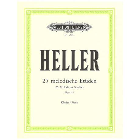 Heller, S.: 25 Melodische Etüden Op. 45