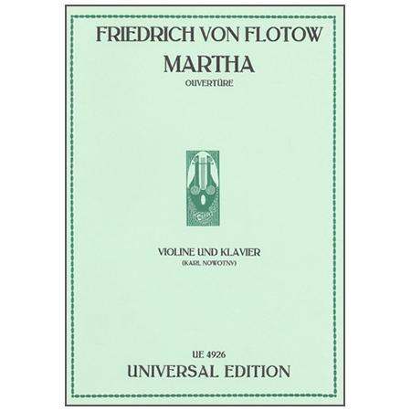 Flotow, F. v.: Ouvertüre zu »Martha«