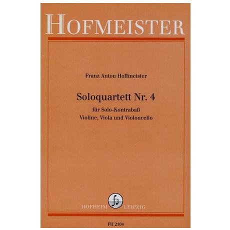 Hoffmeister, F. A.: Solo-Quartette Nr. 4