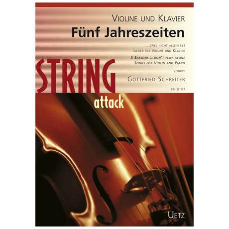 Schreiter, G.: Spiel nicht allein Band 2 – Fünf Jahreszeiten