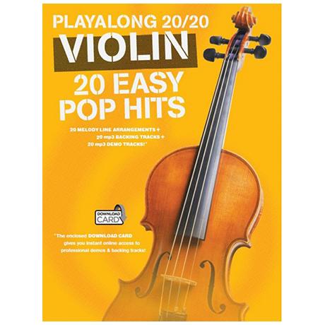 Playalong 20/20 Violin – 20 Easy Pop Hits (+Download Card)