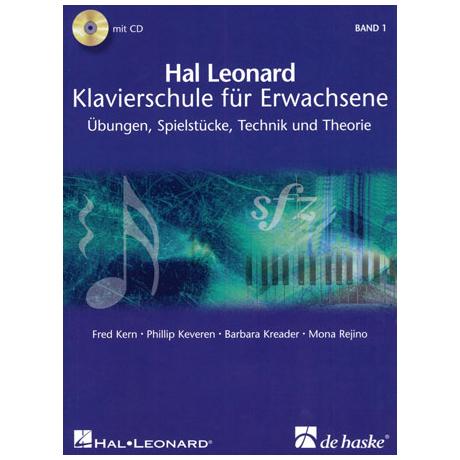 Hal Leonard Klavierschule für Erwachsene Band 1 (+2CDs)