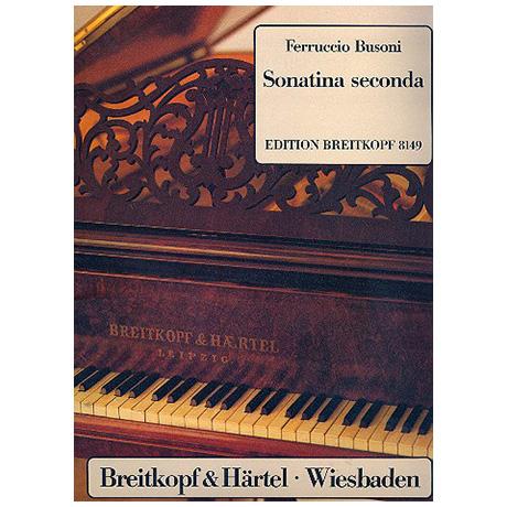 Busoni, F.: Sonatina 2 seconda Busoni-Verz. 259