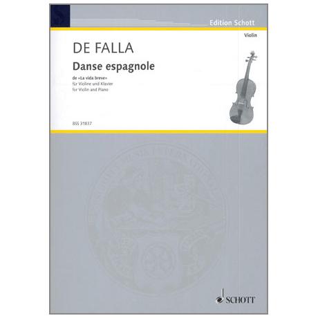 Falla, M. d.: Danse espagnole aus »La vida breve« (Kreisler)