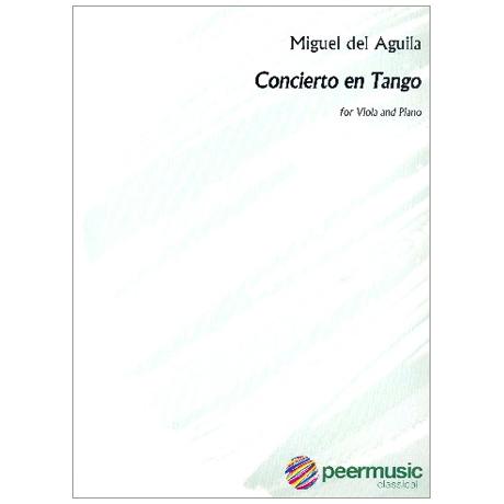 Aguila, M. d.: Concierto en Tango