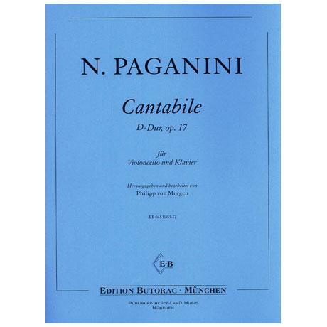 Paganini, N.: Cantabile D-Dur Op. 17