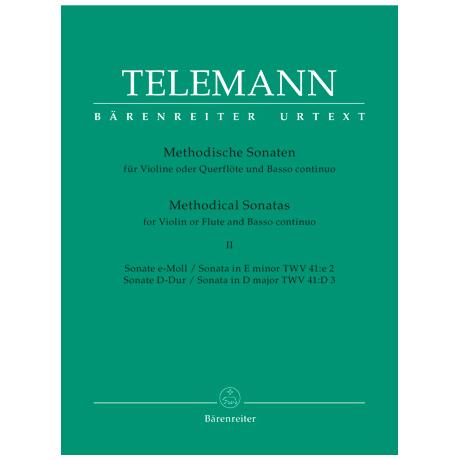 Telemann, G. Ph.: Methodische Sonaten – Band 2
