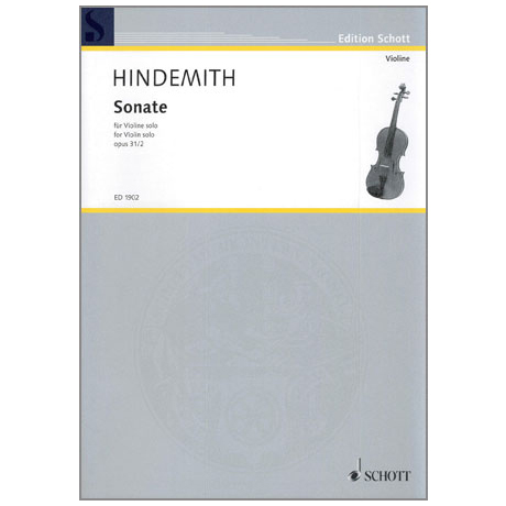Hindemith, P.: Sonate Op. 31/2