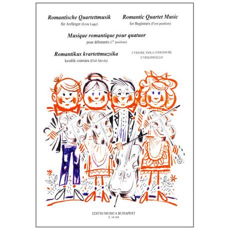 Musik für Anfänger - Romantische Quartettmusik