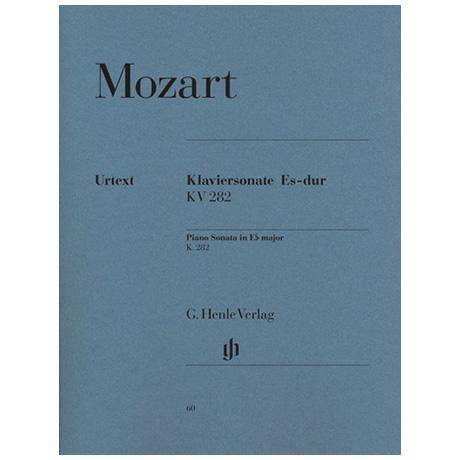 Mozart, W. A.: Klaviersonate Es-Dur KV 282 (189g)
