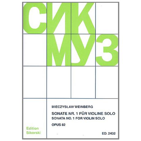 Weinberg, M: Sonate Nr.1 Op.85