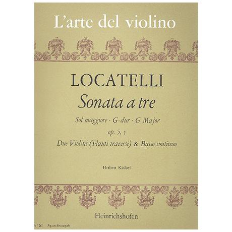 Locatelli, P.: Triosonate G-Dur Op. 5 Nr. 1